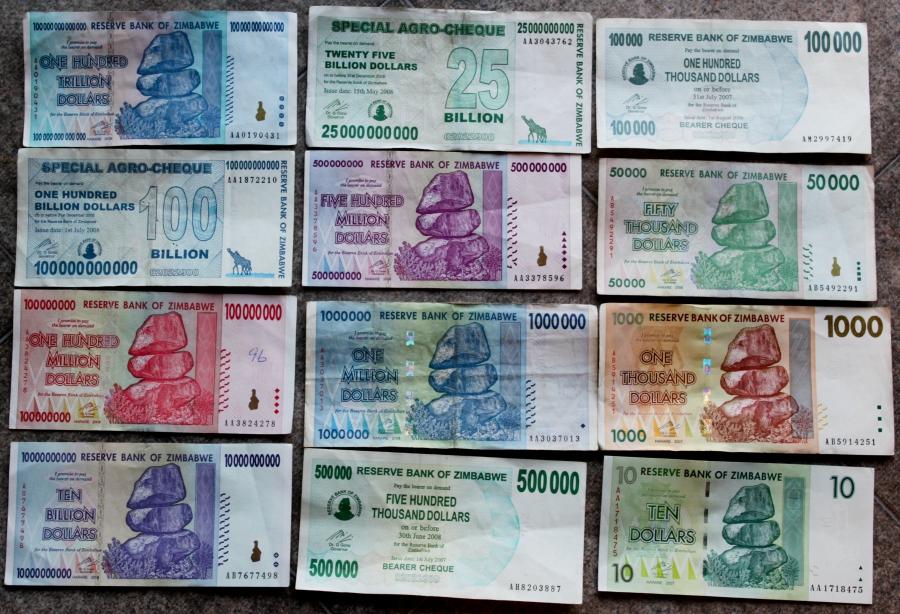 Factsheet Zimbabwe S Currency Through